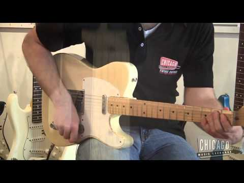 1957 Fender Telecaster Blonde - For Sale