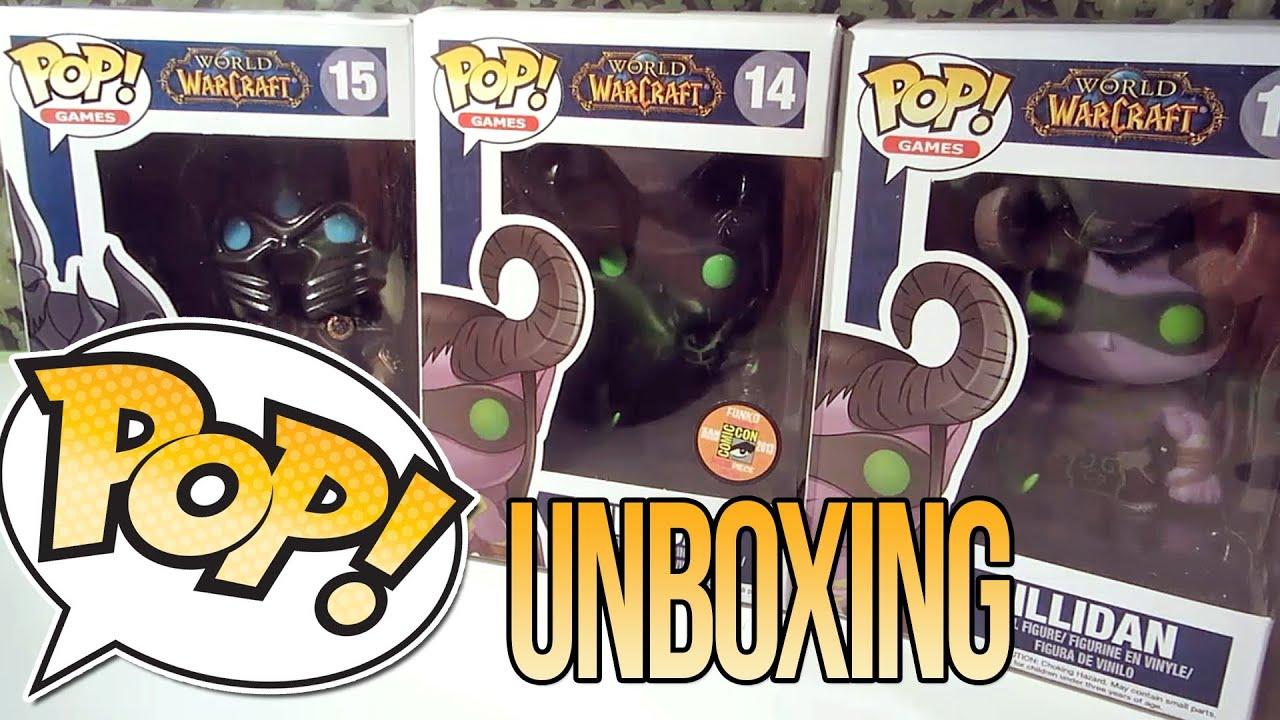 Funko Pop World Of Warcraft Unboxing Youtube