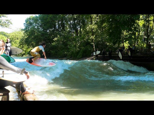 Surfing Munich