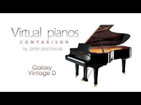 Virtual Pianos Comparison by Júnior Porciúncula
