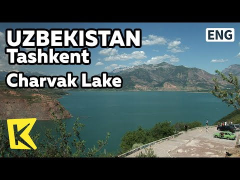 【K】Uzbekistan Travel-Tashkent[우즈베키스탄 여행-타슈켄트]여름 피서, 차르박 호수/Charvak Lake/Resort/Water leisure sports