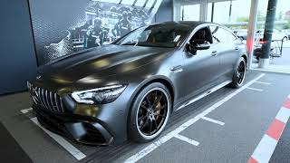 The all‑new 2019 Mercedes‑AMG GT 63S 4‑Door Coupe