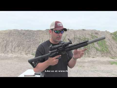 PWS MK109 300 Blackout AR15 Rifle Gemtech Sandstorm Demo Day Live Fire Review