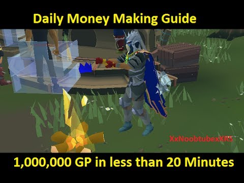 Runescape Daily Money Making Guide – 3.2M gp/hr (2014) [HD]