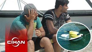 Jet Ski Ile Kaçmaya çalışan Suriyeliler Pes Dedirtti