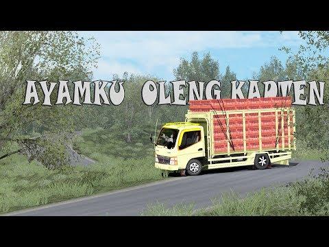 Canter Ayam Kapten Oleng : ETS2 Mod CANTER