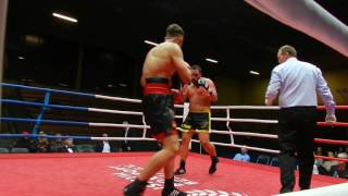 Prenga vs. Auriemma Boxen Kampf 22 10 2016 in Berlin