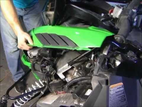 How-To: Hood Removal on 2012 (and Newer) Arctic Cat Turbo Snowmobiles