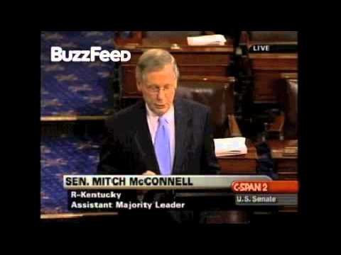 When Mitch McConnell Supported Changing The Filibuster