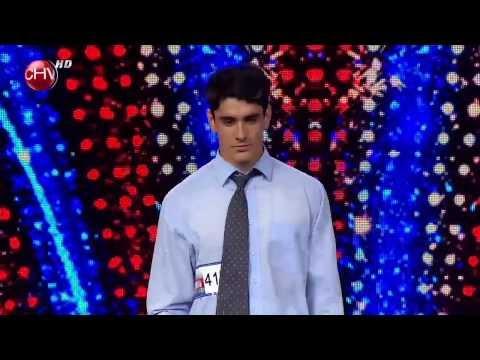 Oscar Reinoso impactó con su breakdance - TALENTO CHILENO 2013
