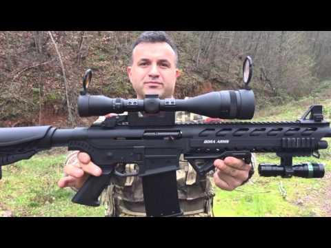 Bora barak BR 20 şarjörlü av tüfeği