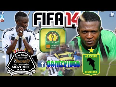 Fifa14 CAF Ligne TP Mazembe - AS Vita Club