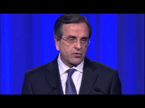 Prime Minister of Greece Antonis Samaras speech at the EPP Congress, Dublin
