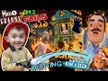 HELLO NEIGHBOR ON FIRE! Saved by Fireman Shawn (FGTEEV Part 3s of Hello Granny & Hide & Seek)