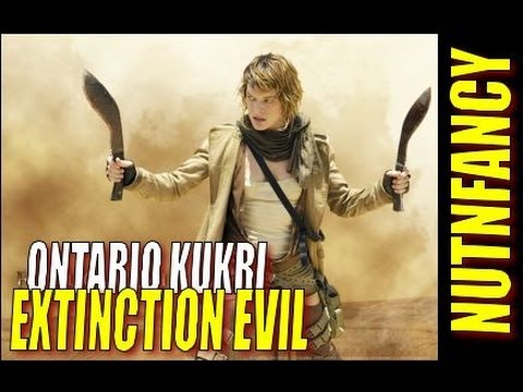 Ontario Kukri: Evil Extinction by Nutnfancy