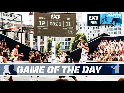 GAME OF THE DAY Serbia vs. USA - Quarter-Finals - Full Game - FIBA 3x3 World Cup 2017