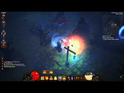 Diablo 3 1.07 PVP Monk Vs ALL RAW PTR 1080P