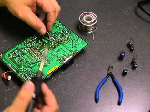 Repairing the Samsung 920n / 920NW monitor Part 2 board repair