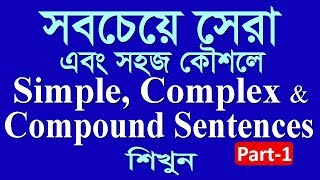 How to transform simple to complex sentence  complex to simple  Basic grammar tutorial