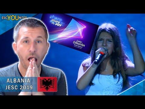 ALBANIA: Isea Çili - Mikja Ime Fëmijëri | Junior Eurovision 2019 - REACTION
