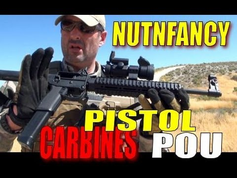 Pistol Caliber Carbines Don't Suck (Afterall) by Nutnfancy