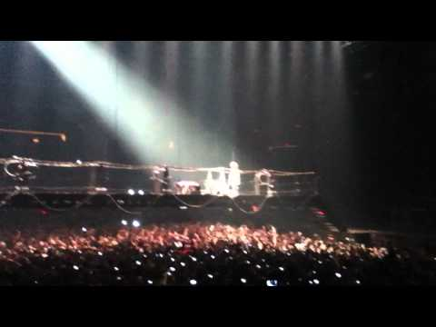 Rammstein - Buch Dich Live (guy Gets Smacked Off Bridge) With Bdsm Intro [hd] video