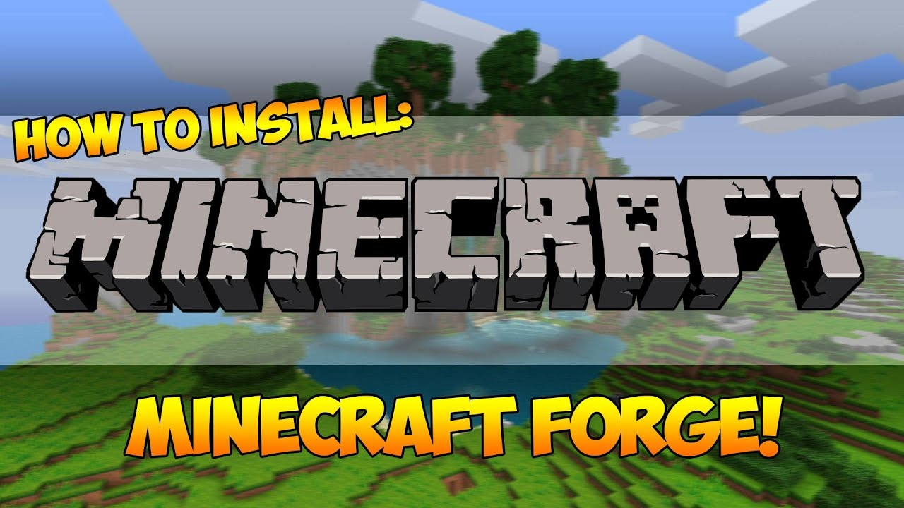 minecraft how to make a forge