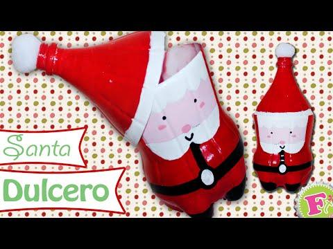 Santa Claus Dulcero! con Botes de refresco!