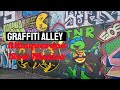 I checked out Graffiti Alley here in Albuquerque, NM
