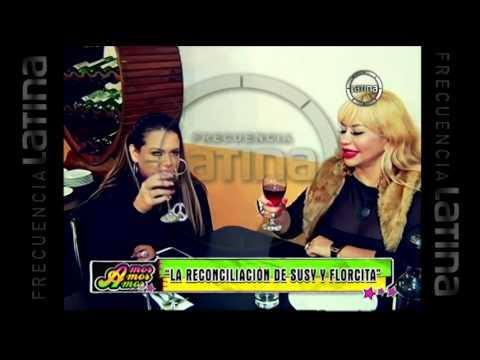 Así fue la reconciliación de Susy Díaz y Flor Polo