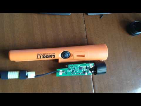 пинпоинтер гаррет видео инструкция