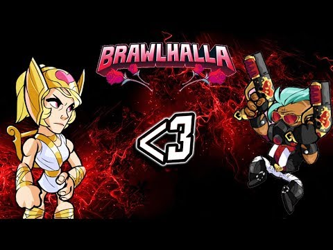 CANCEROUS PLAYERS IN BRAWLHALLA??? - Valentines Brawlhalla Special!!