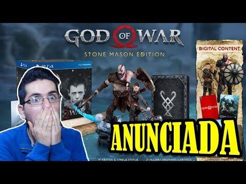 God of War: Anunciada edición coleccionista (¿Fecha de lanzamiento?) | SQS thumbnail
