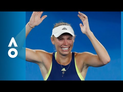 Simona Halep v Caroline Wozniacki match highlights | Australian Open 2018