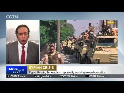 Egypt To Send Peacekeeping Force To Syria