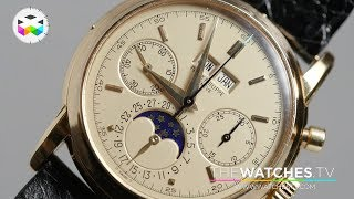 Top Patek Philippe lots put on auction!