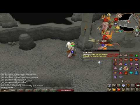 Tormented Demon (Solo Guide) WClaw Drop