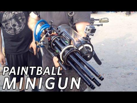 Paintball Minigun at SC Village