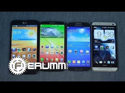 Сравнение LG G2 VS Samsung Galaxy S4 VS HTC One VS  LG Optimus G Pro. Битва титанов