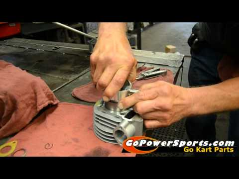 Installing the 150cc Go Kart Engine Rebuild Kit