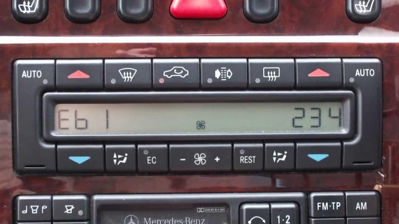 Инструкцию Борт Компьютера W210