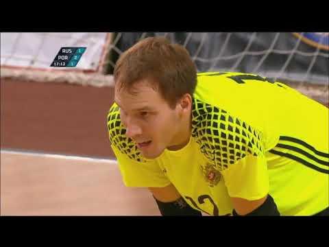 Мини-футбол. Россия - Португалия - 3:3