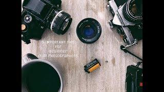 5 IMPORTANT Tips for Beginner Film Photographers!