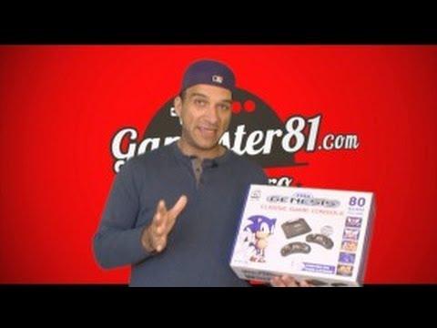 New Sega Genesis Model 4 System Review - Gamester81