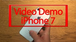 FINALMENTE! iPHONE 7 DEMO VIDEO | By iLudotech