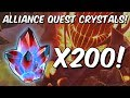 200x Alliance Quest Map 5 & Map 6 Crystal Opening! - Marvel Contest Of Champions