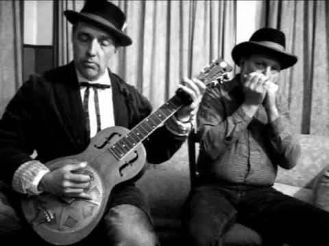 Blues Harp&Bottleneck Slide Guitar Duet # 2 Blind Willie Johnson