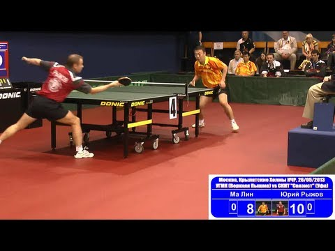 Ma LIN vs Yuriy RIZHOV 1/8 Russian Premier League Playoff