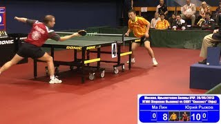 MA Lin vs Yuriy RIZHOV 1/8 Russian Premier League Playoff Table Tennis