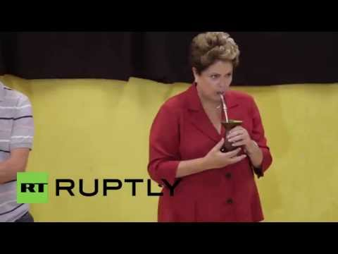Brazil: Watch Dilma Rousseff cast her vote